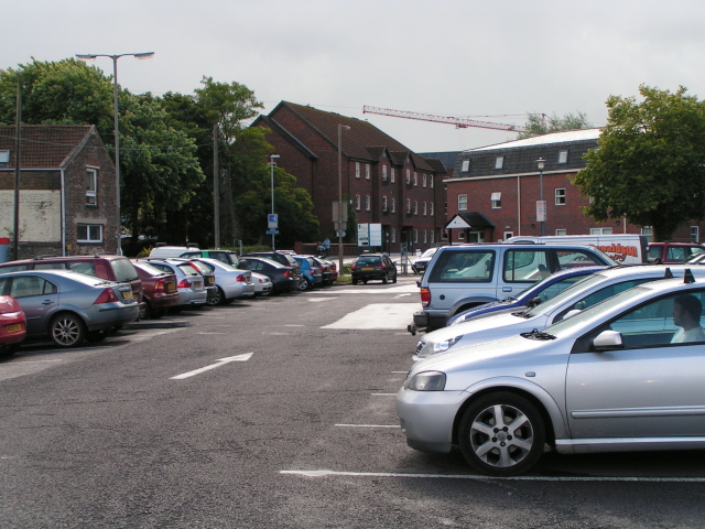 File:Castle street car park, Taunton - geograph.org.uk - 1460157.jpg