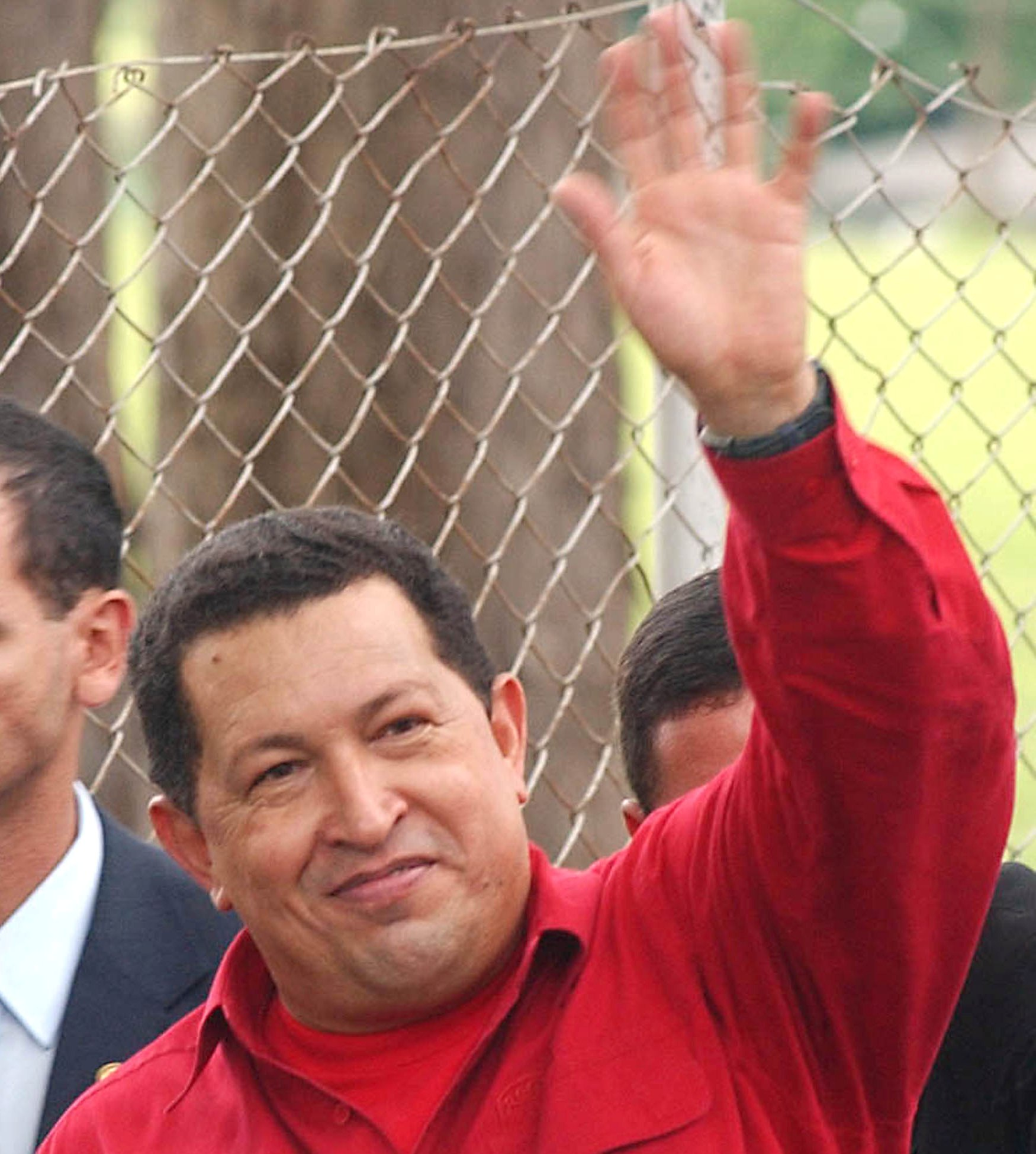 Hugo Chavez in 2006, after meeting with Luiz Inácio Lula da Silva, the president of Brazil, and Néstor Kirchner, then president of Argentina.