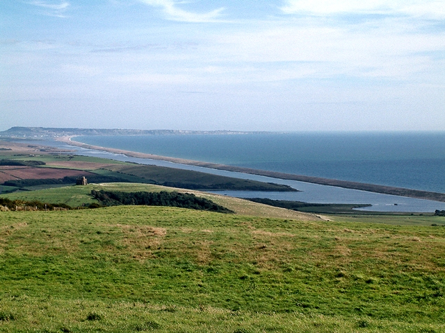 File:Chesil Beach and The Fleet - geograph.org.uk - 1059806.jpg