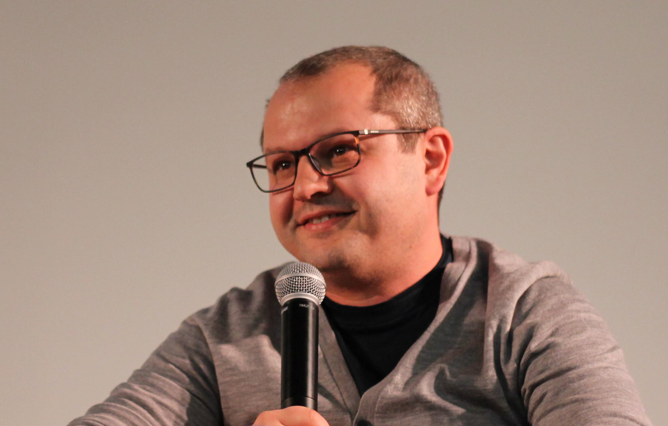 Corneliu Porumboiu at Lisbon Film Festival in 2019