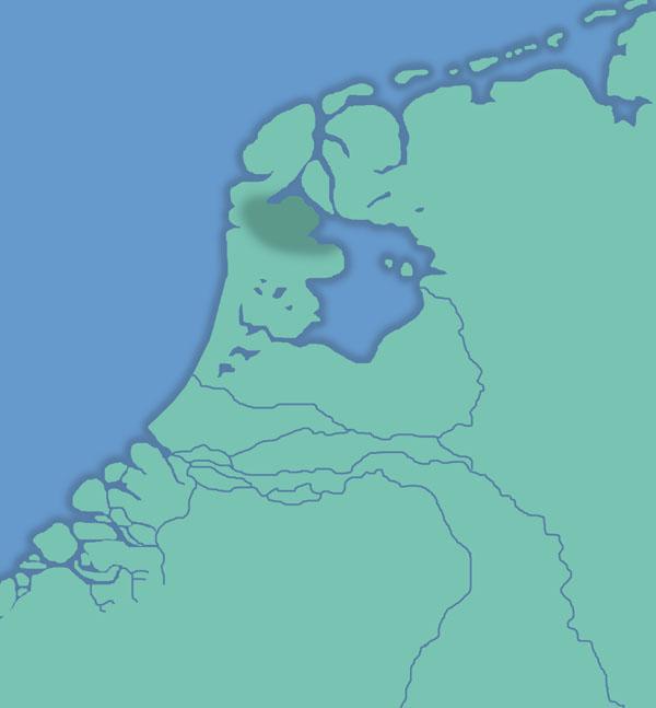 Creiler woud, voor de Allerheiligenvloed van 1 op 2 november 1170