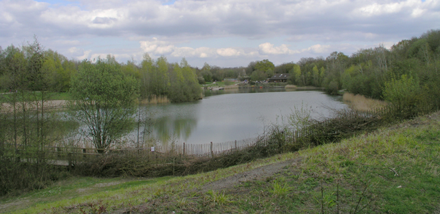 Cripplegate Lake, Southwater Country Park - geograph.org.uk - 237415