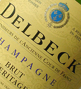 Image illustrative de l'article Champagne Delbeck
