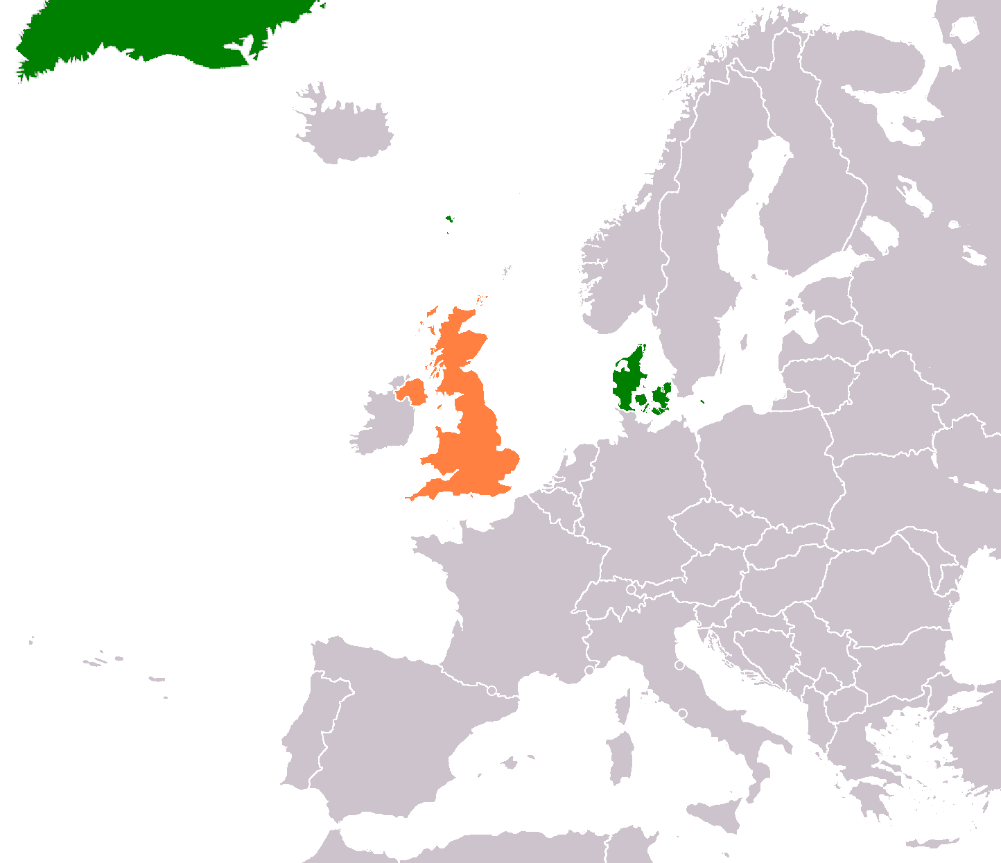 Denmark–United Kingdom relations - Wikipedia on russian federation map, united arab emirates map, republic of mexico map, people's republic of china map, commonwealth of dominica map, republic of turkey map, republic of maldives map, republic of nauru map, republic of cyprus map, khmer kingdom map, bosnia and herzegovina map, republic of moldova map, united kingdom map, state of israel map, republic of croatia map, antigua and barbuda map, republic of korea map, state of new mexico map, republic of kenya map,