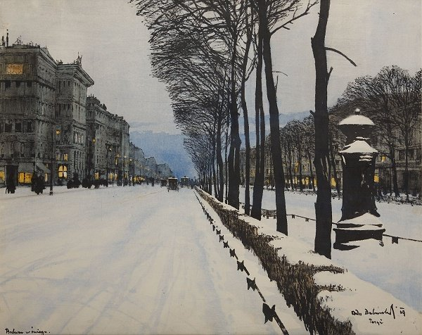 File:Dobrowolski Bulwar w sniegu 1909.jpg