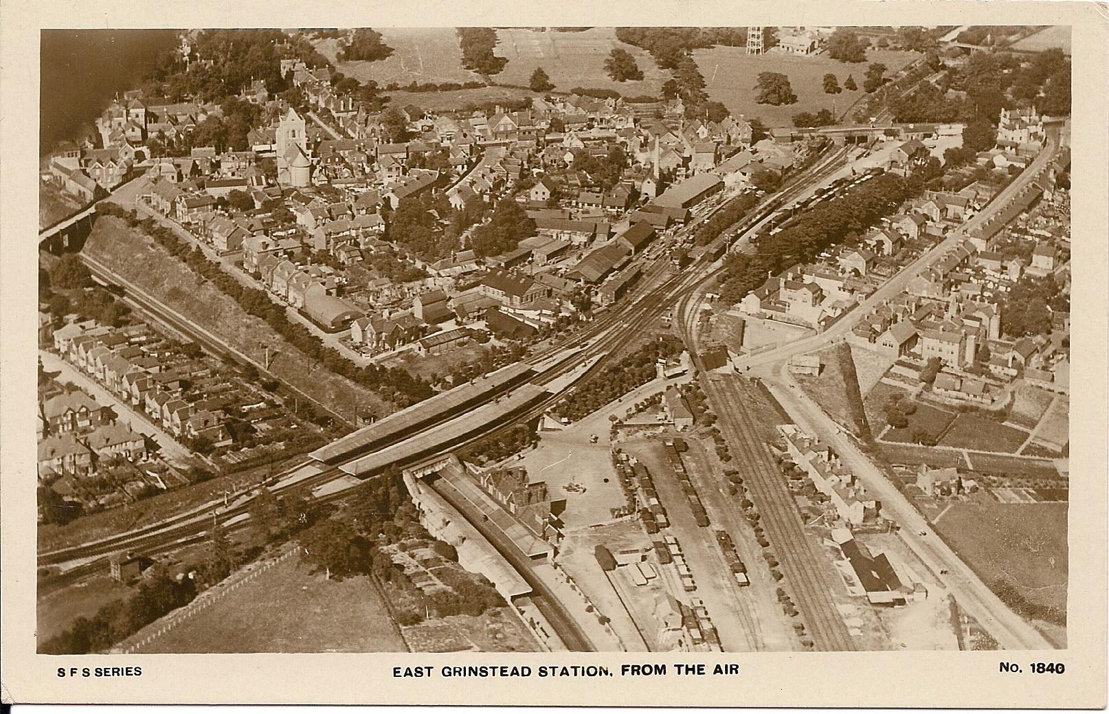 FileEast Grinstead station aerial viewjpg FileEast Grinstead