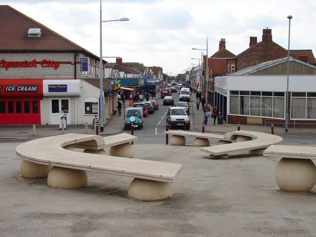 East end of Mablethorpe High Street - geograph.org.uk - 1219876