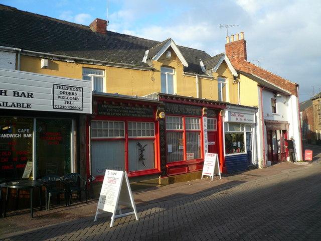 Eckington - Shops - geograph.org.uk - 631332