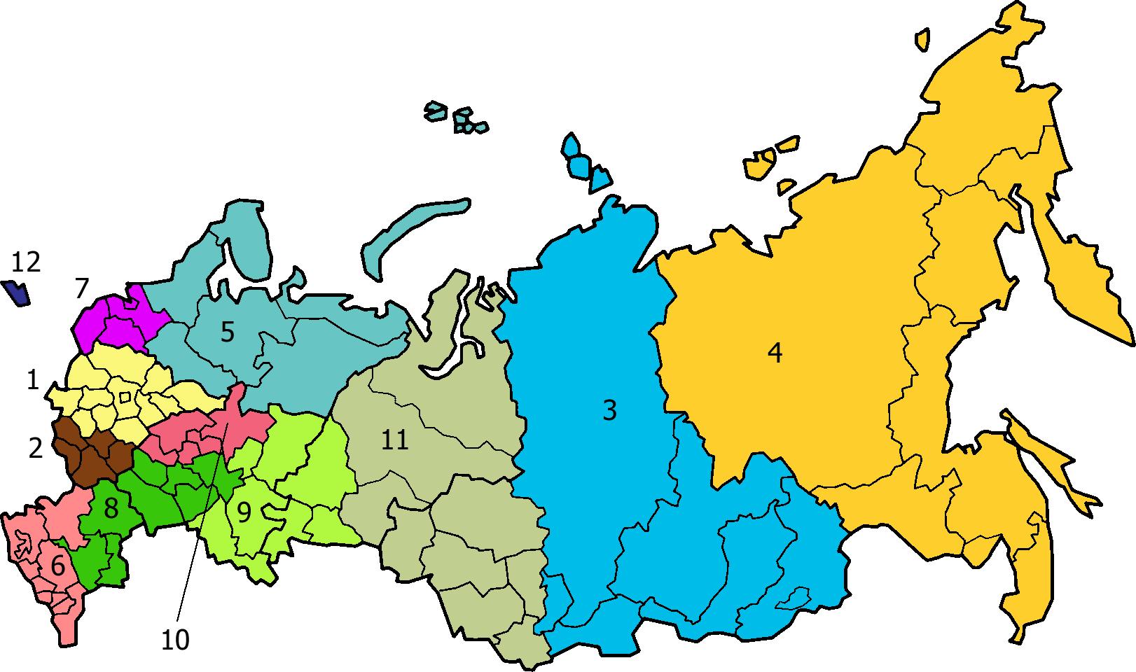 Regions Of Russian Army 28