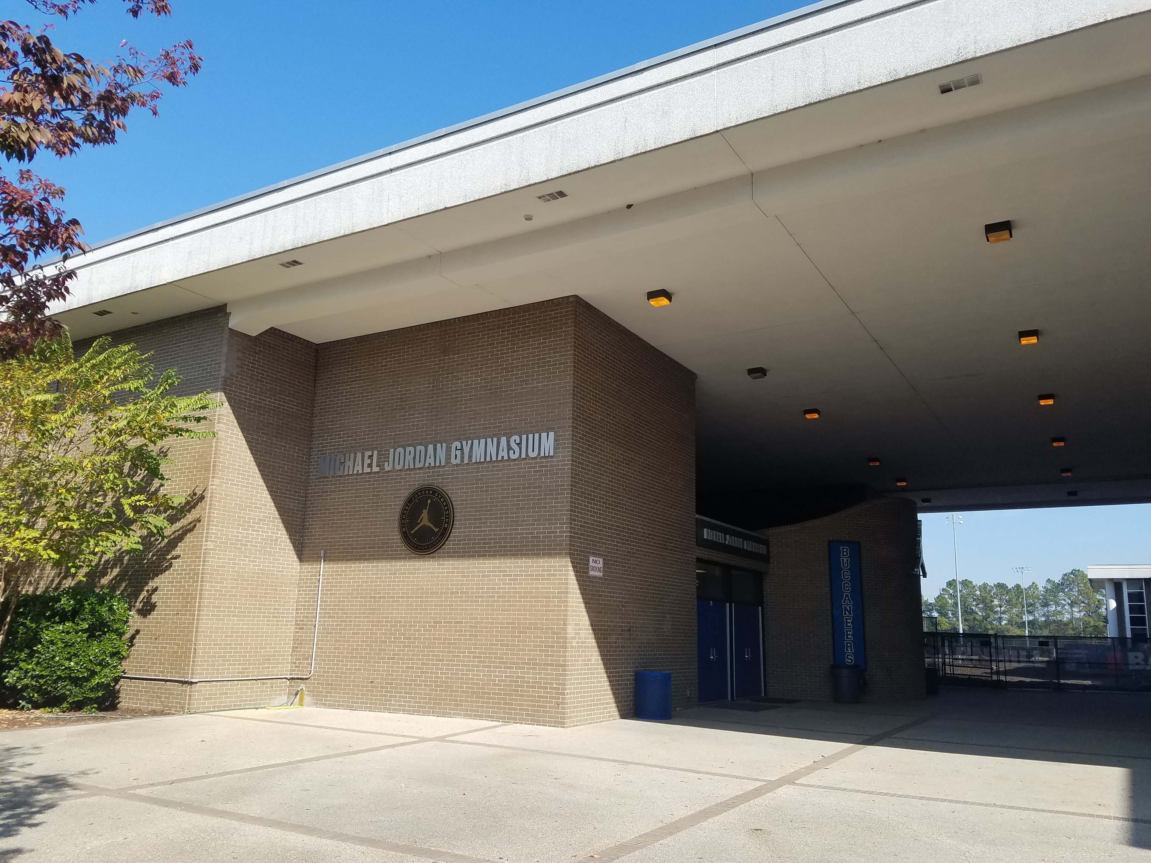 f1ed4c43c34a The Michael Jordan Gymnasium at Laney. The Laney High School
