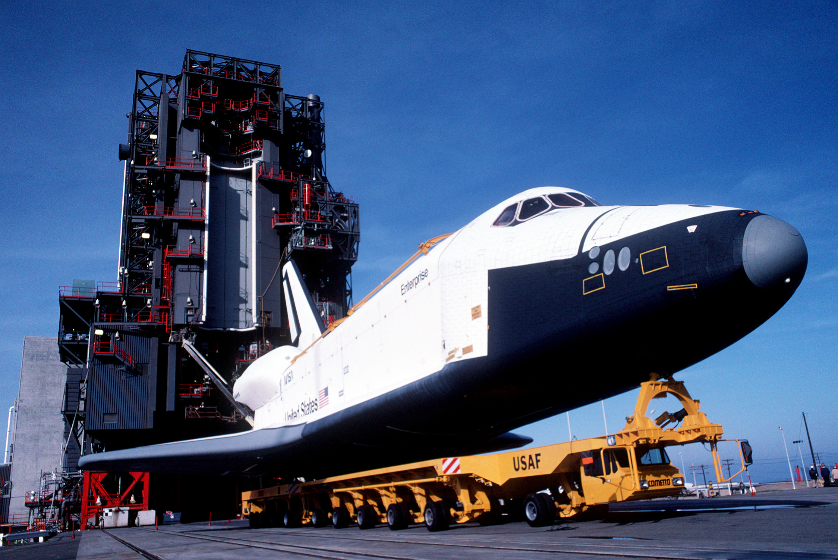 space shuttle at vandenberg - photo #21