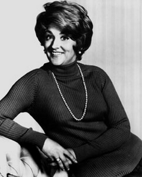 Depiction of Fannie Flagg