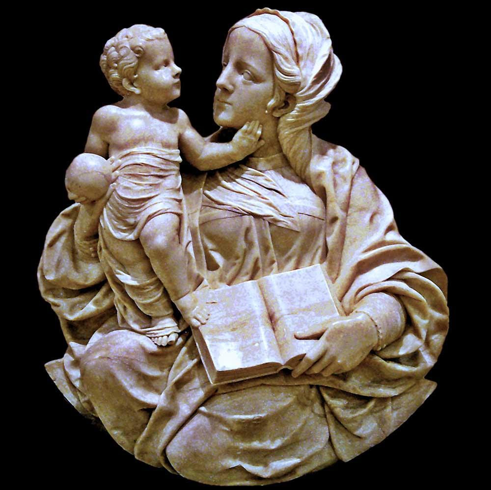 Virgen con el Niño, de Felipe Bigarny