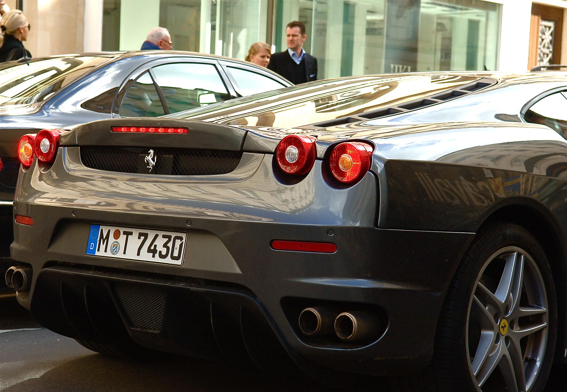 File Ferrari Rear End Jpg Wikimedia Commons