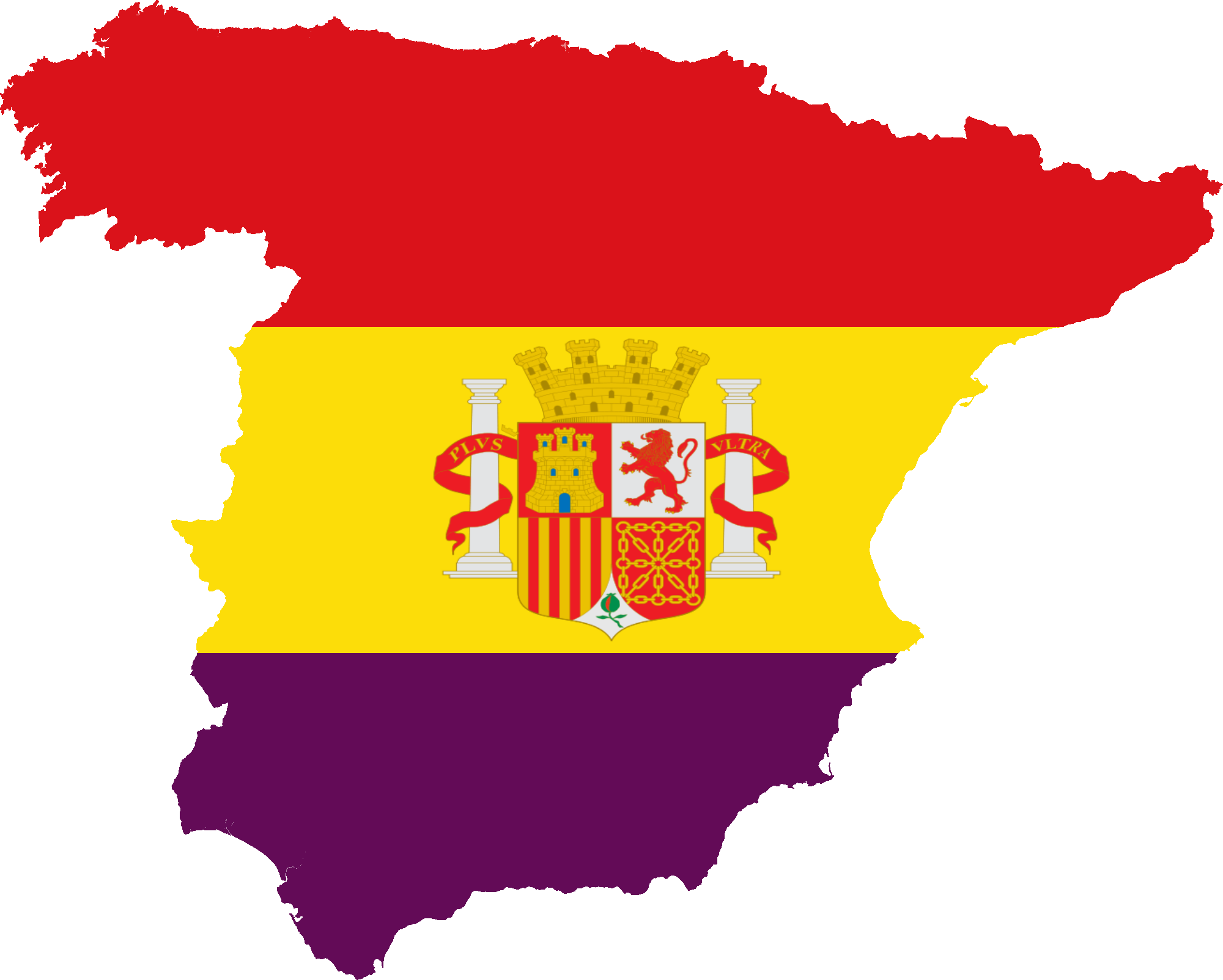 Spain Map Flag.File Flag Map Of The Spanish Republic Civil Png Wikimedia Commons