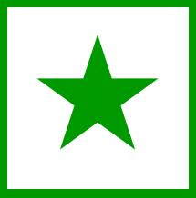 Risultati immagini per bandiera esperanto
