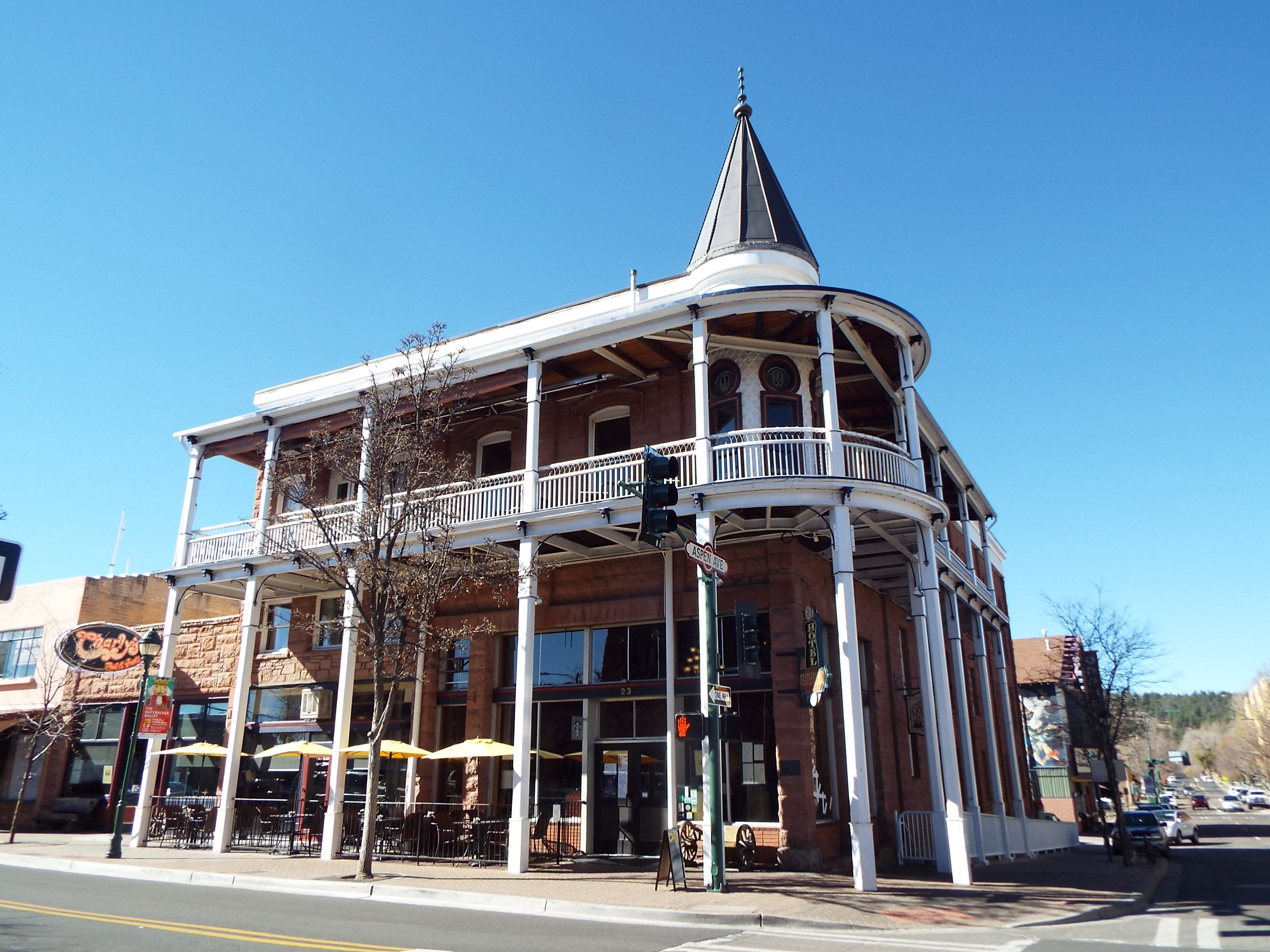 The Weatherford Hotel List of historic properties