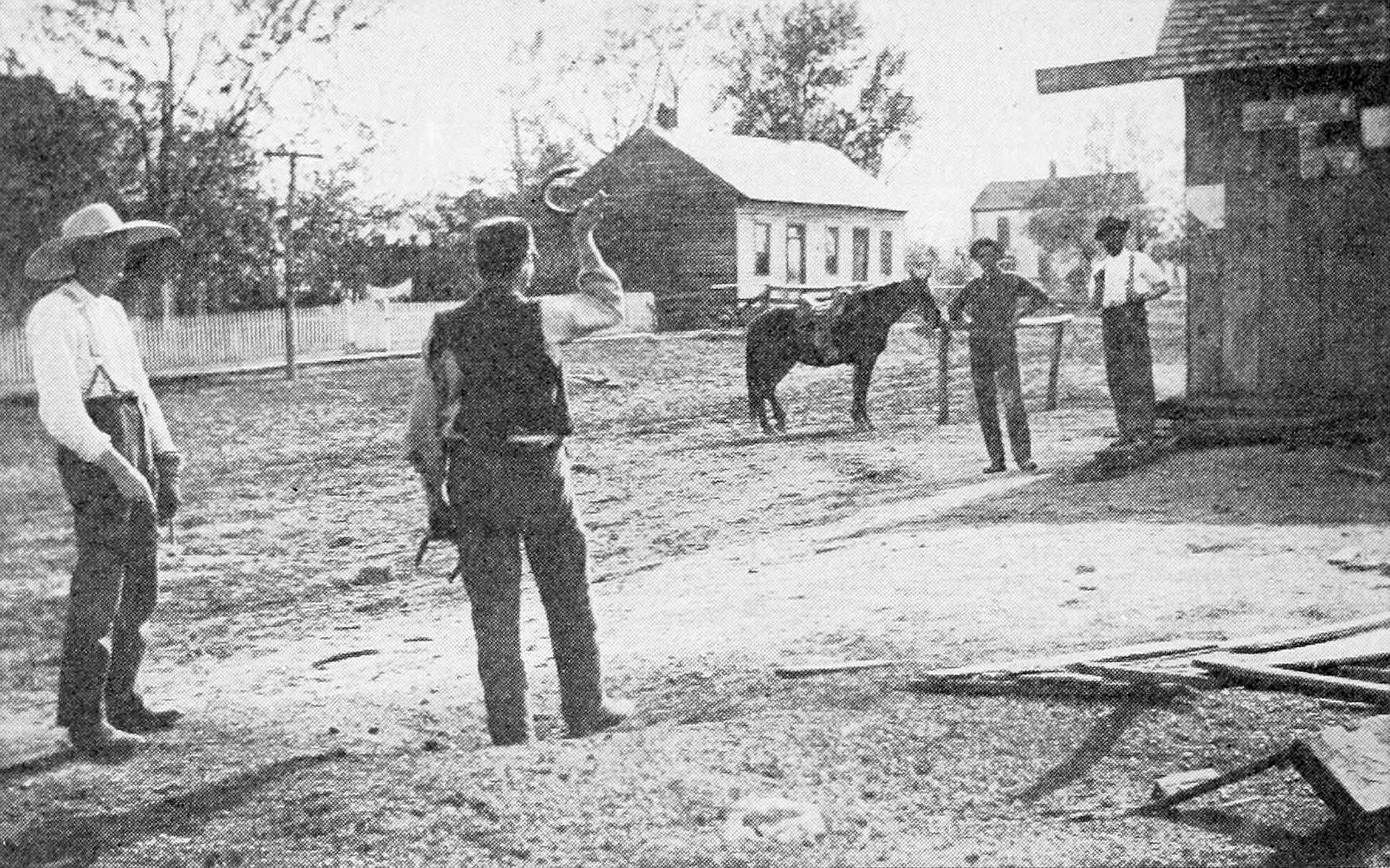 Playing quoits in Florida 1919 Florida Missouri