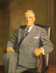 Official portrait as Secretary of the Treasury