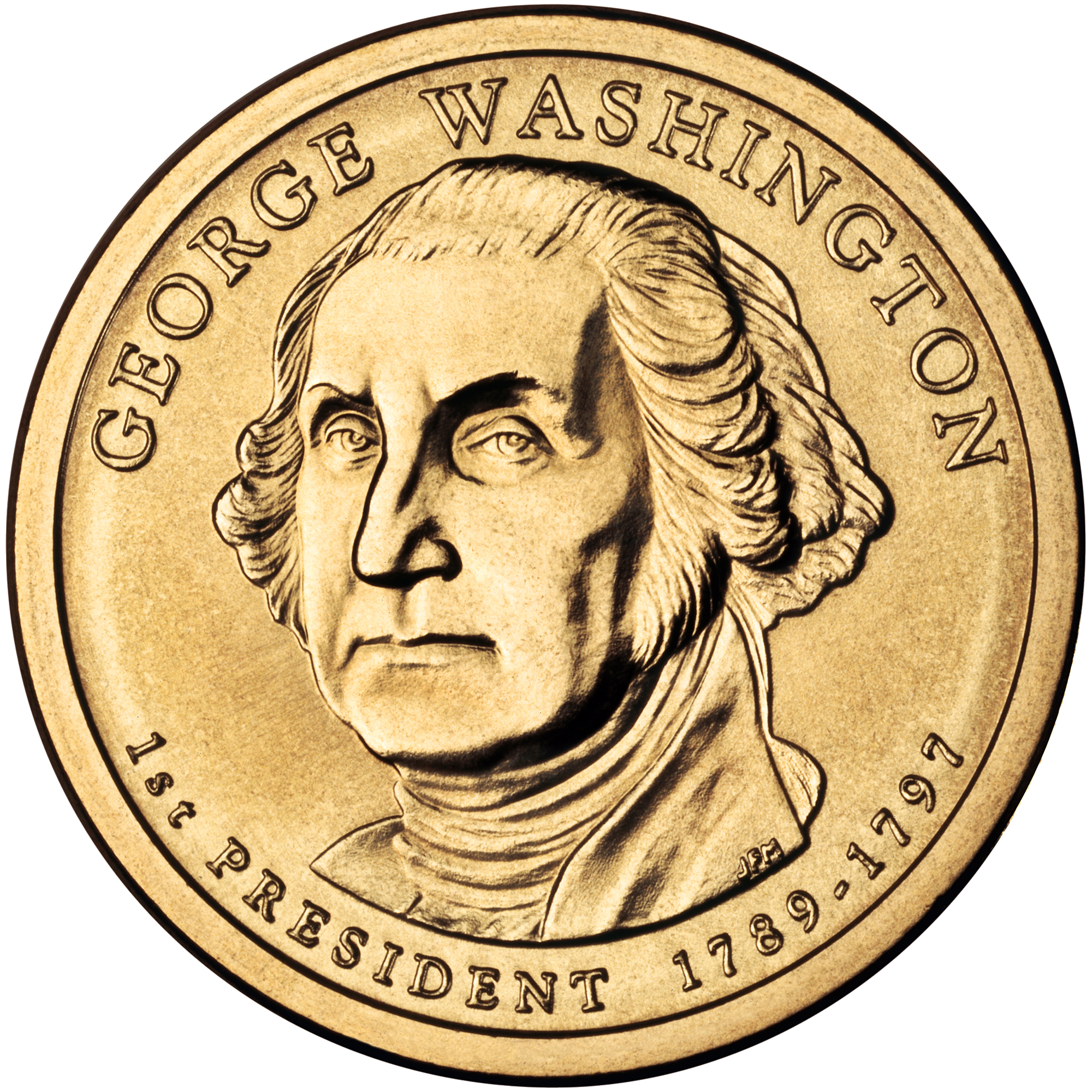 File:George Washington Presidential $1 Coin obverse.png ...
