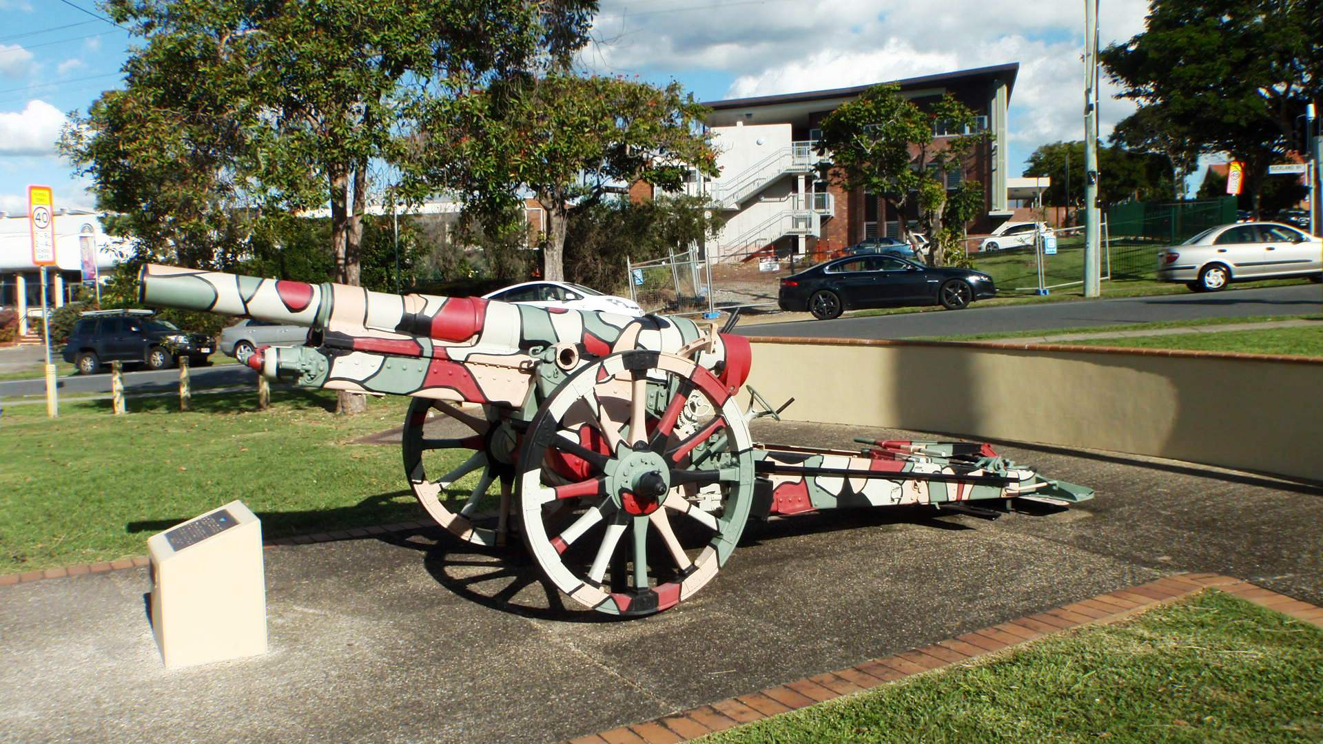 German 50 Mm Anti Tank Gun: File:German Krupp 108mm Gun, War Memorial Nundah QLD.JPG