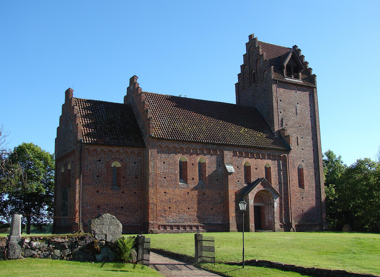 Bild av Gumlösa kyrka