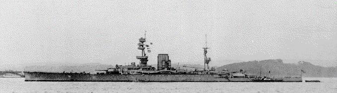 HMS Glorious 1918