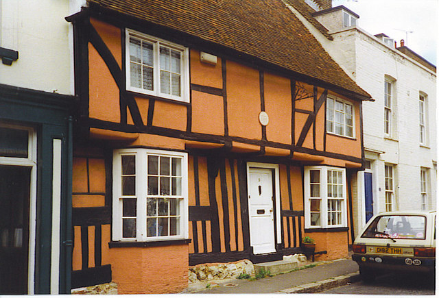Half-timbered Cottage, Charing - geograph.org.uk - 251582