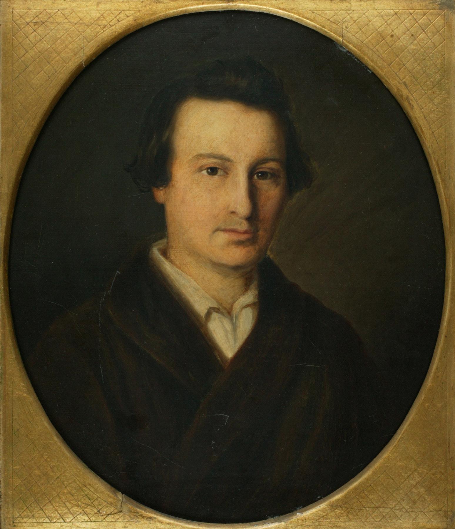 Heinrich Heine portrait