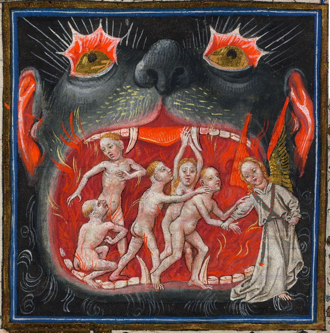 a pokol látomása