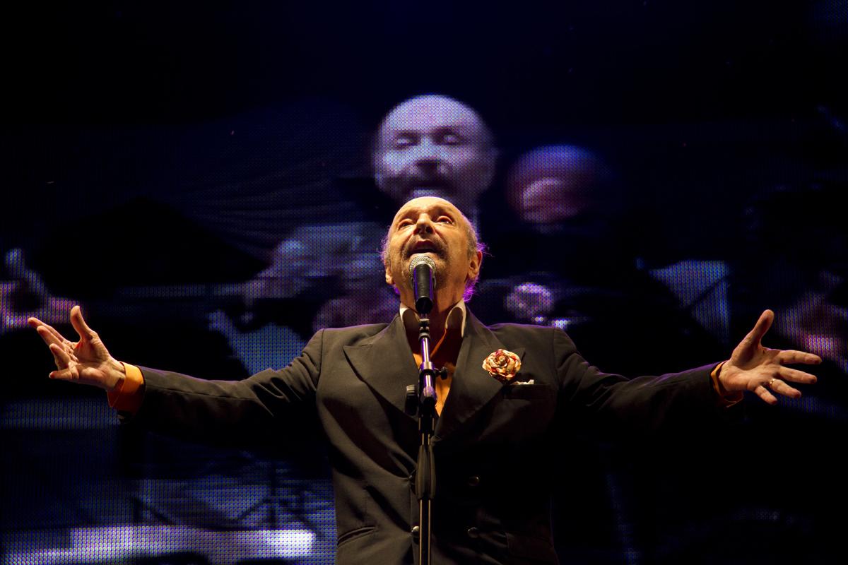 Horacio Ferrer recitando en 2011.