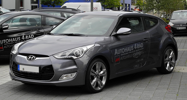 File Hyundai Veloster 1 6 Gdi Frontansicht 10 August