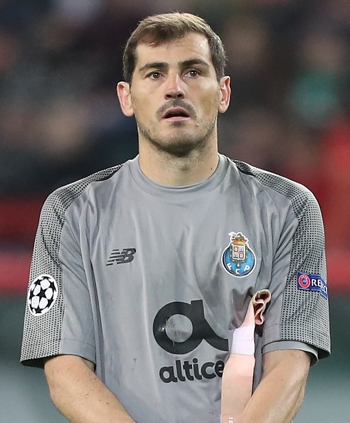 7112cc8a8d6 Iker Casillas - Wikipedia
