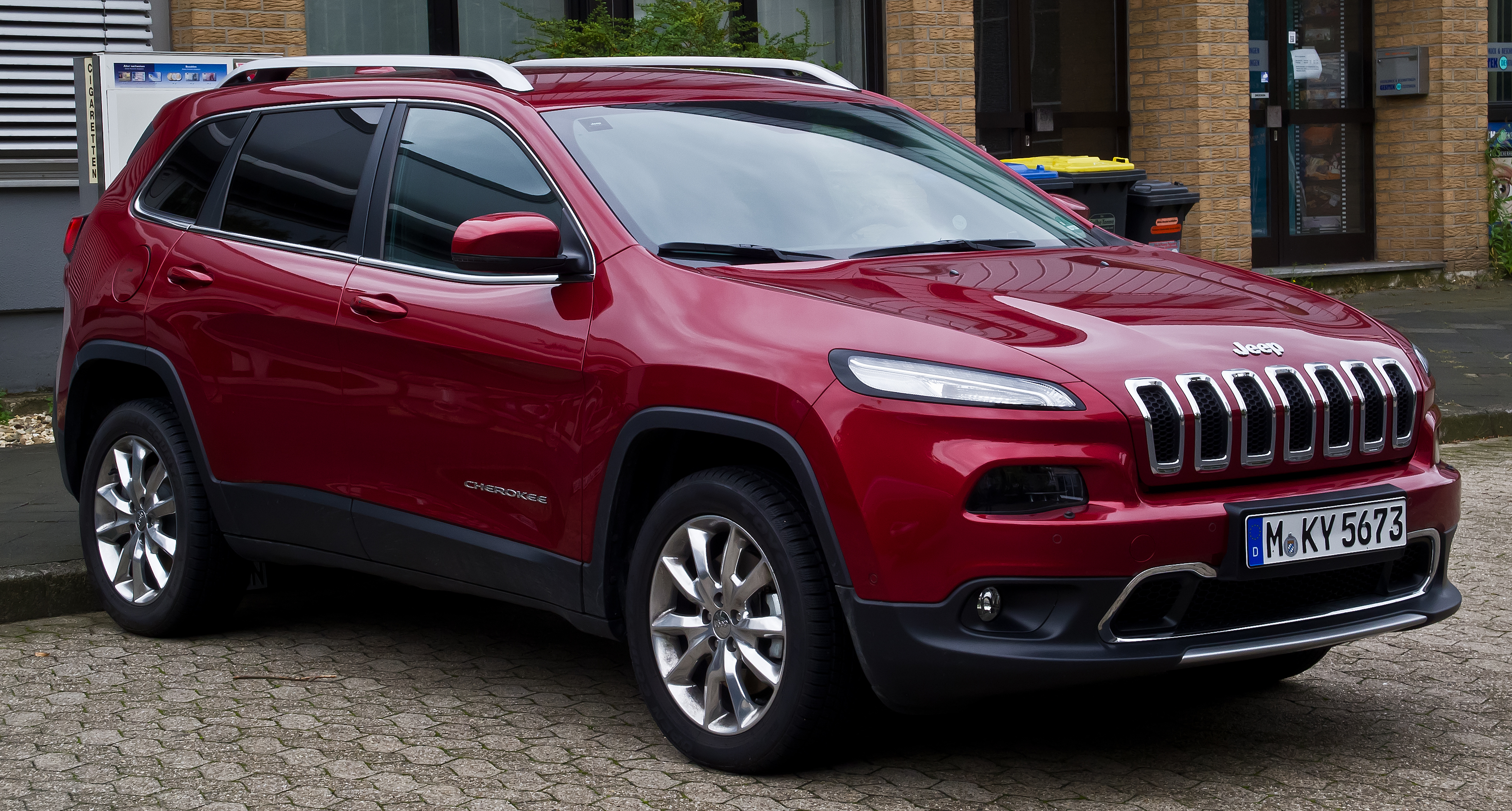 file jeep cherokee 2 0 mulitjet 4wd limited kl frontansicht 30 rh commons wikimedia org