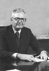 John E. Visser President of Emporia State University