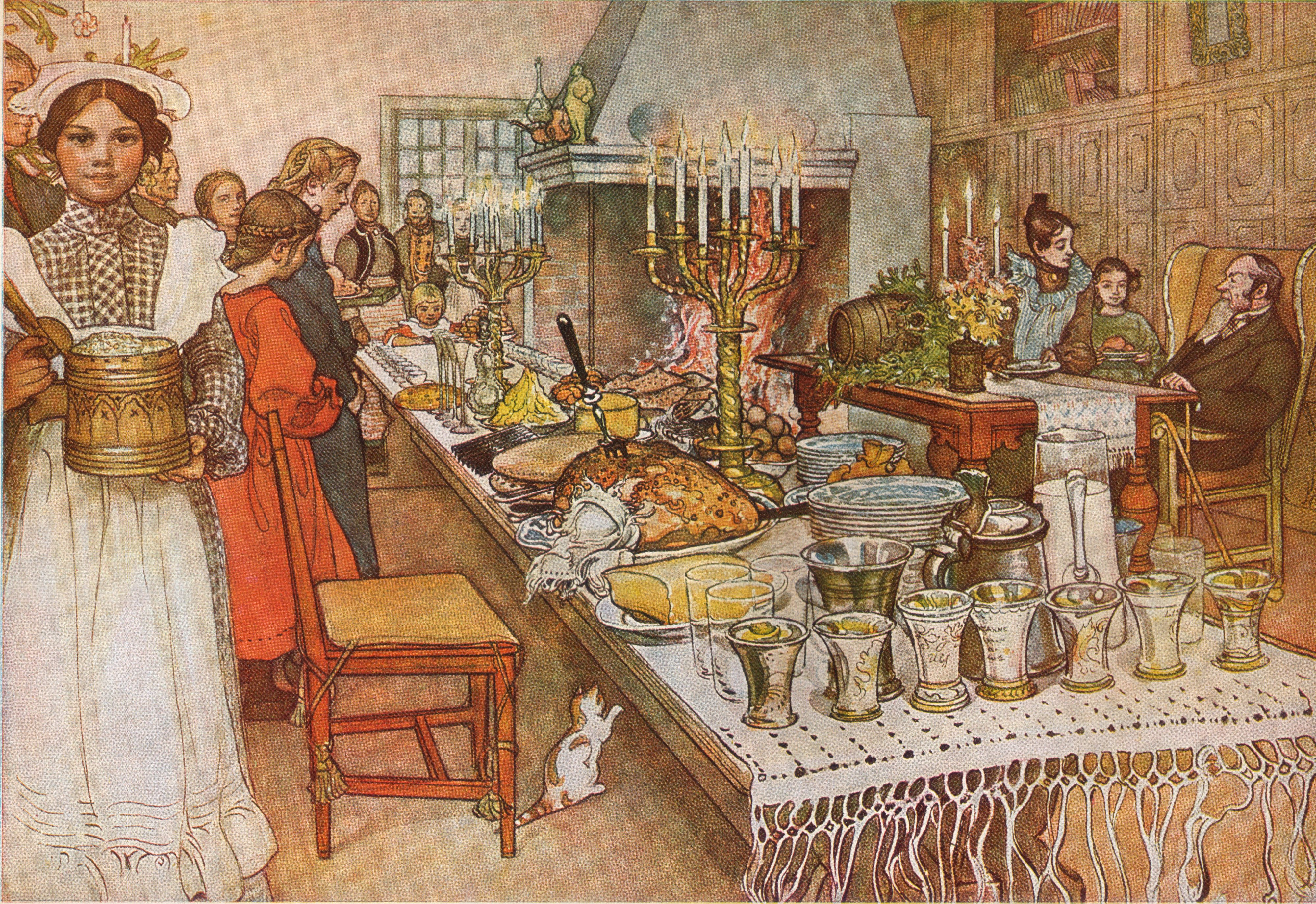 Depiction of Nochebuena
