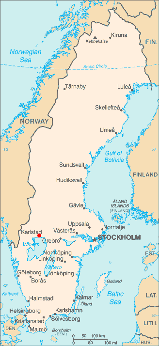 karlstad sweden map
