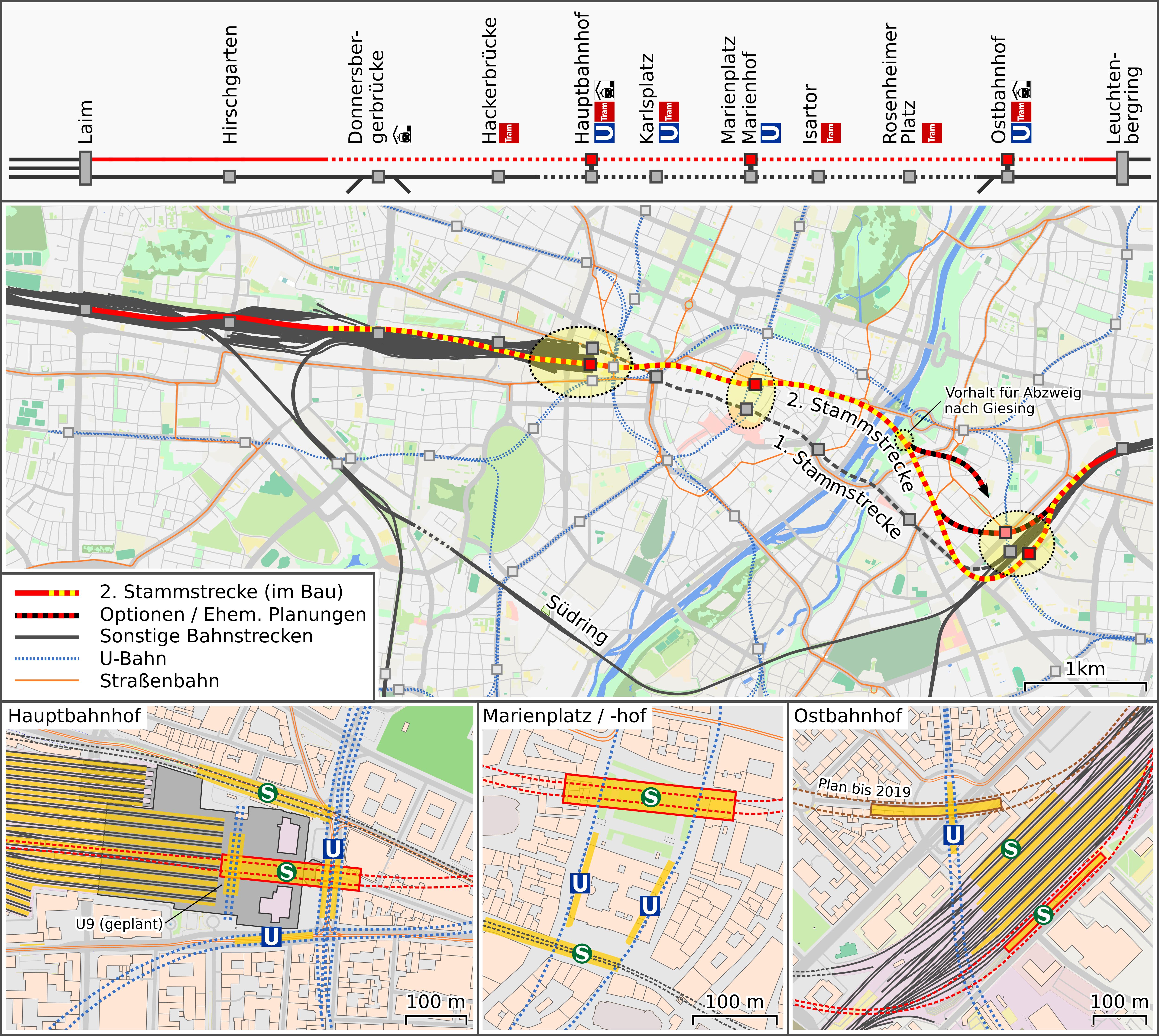 Zweite Stammstrecke S Bahn München Wikipedia