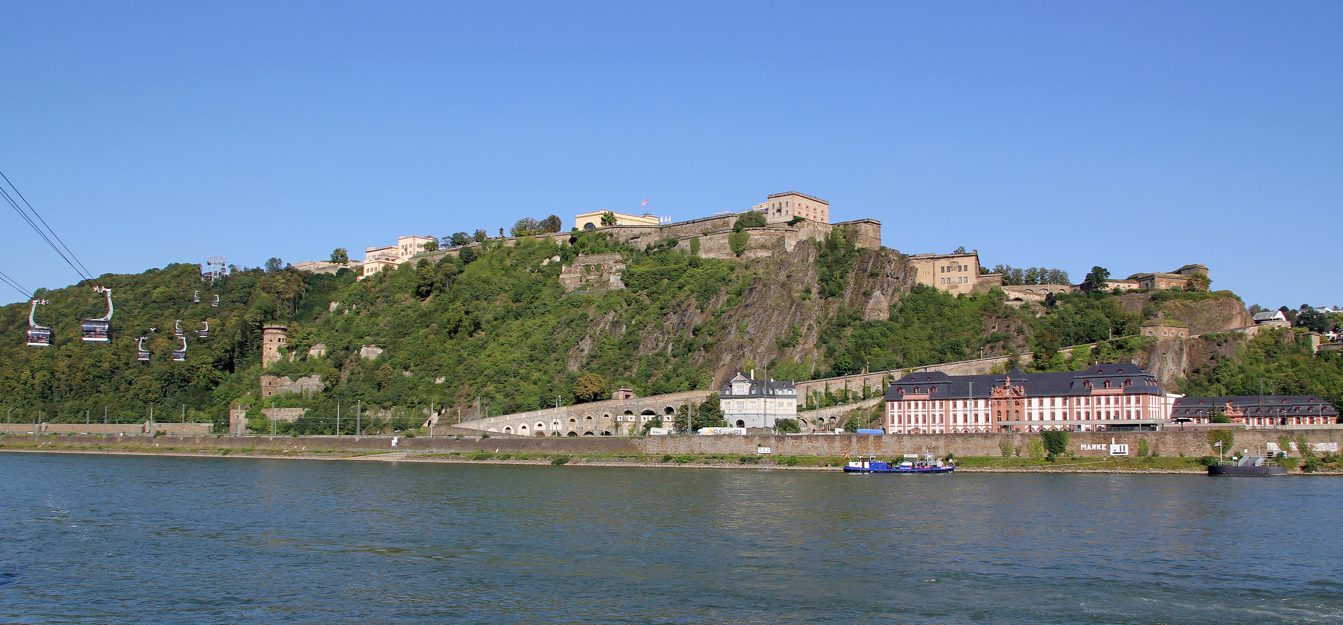 FileKoblenz im Buga Jahr 2011 Festung Ehrenbreitstein