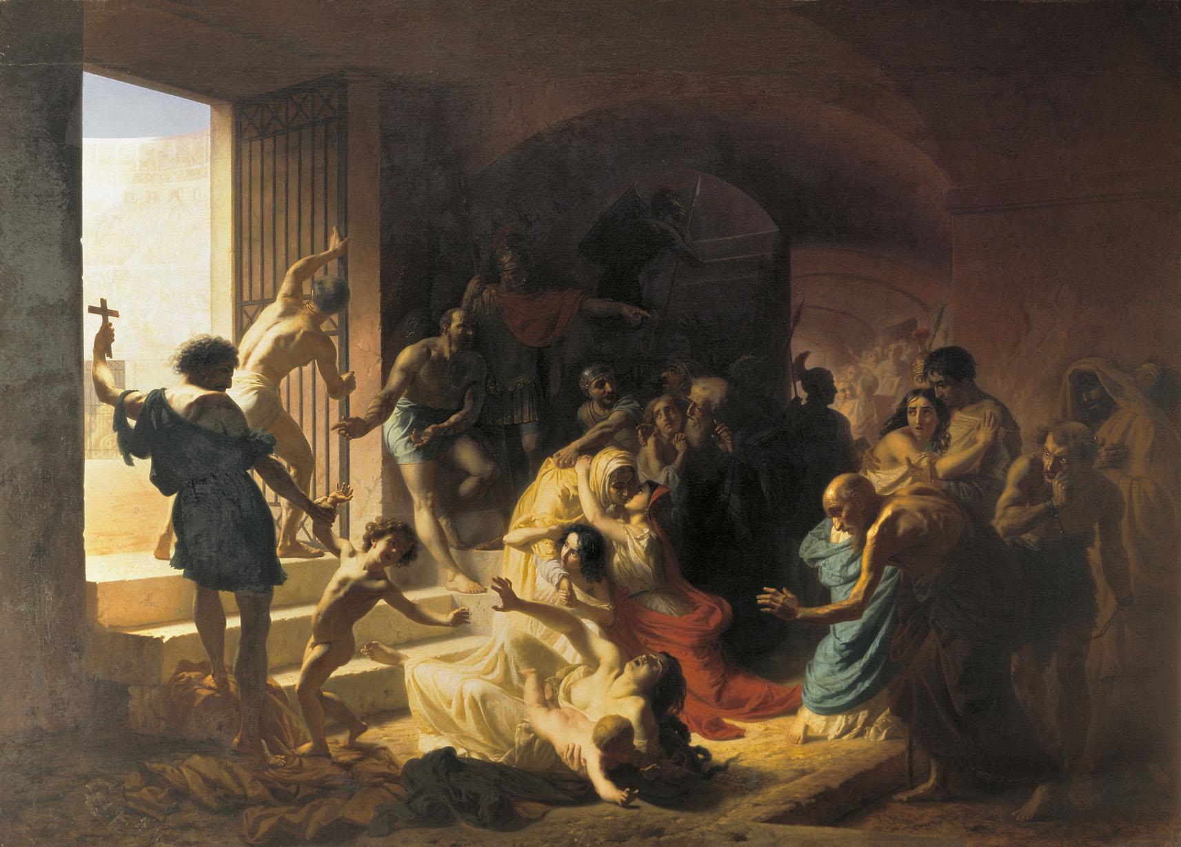 Křesťané v Koloseu