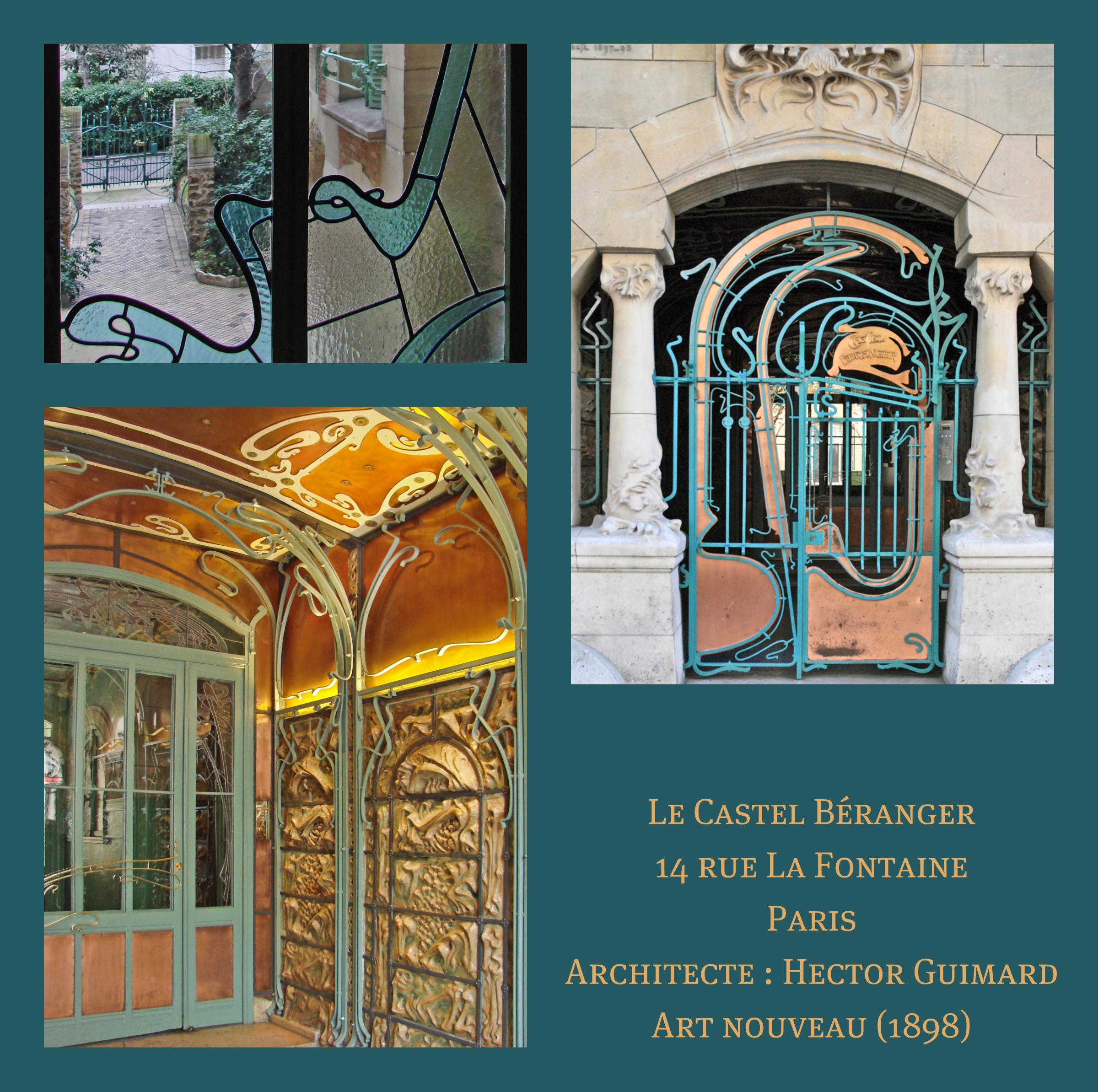 29 Rue De La Ferronnerie file:le castel béranger dhector guimard (paris) (5523750163
