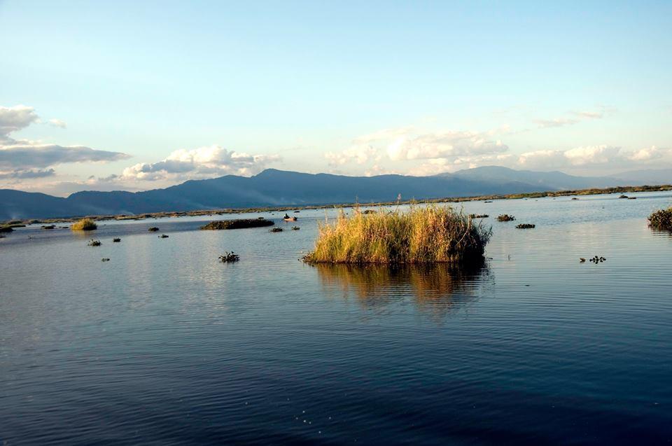 Loktak Lake in December 2016 Loktak Lake