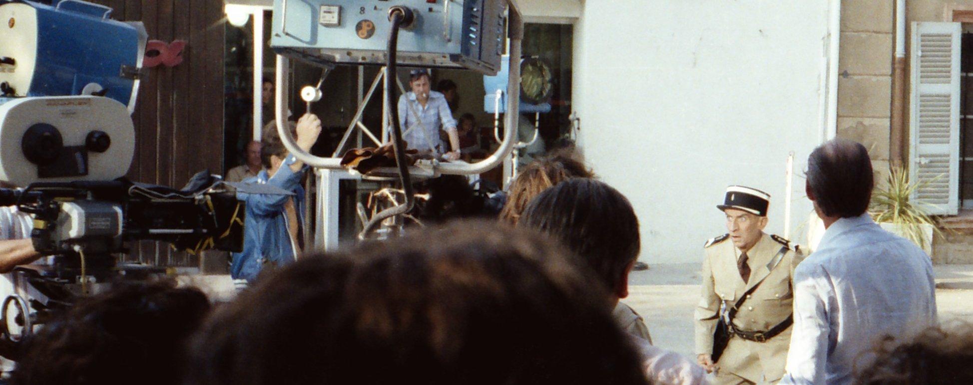 Louis de Funès — Tournage Le Gendarme et les Extra-terrestres — Saint-Tropez, 1978.jpg