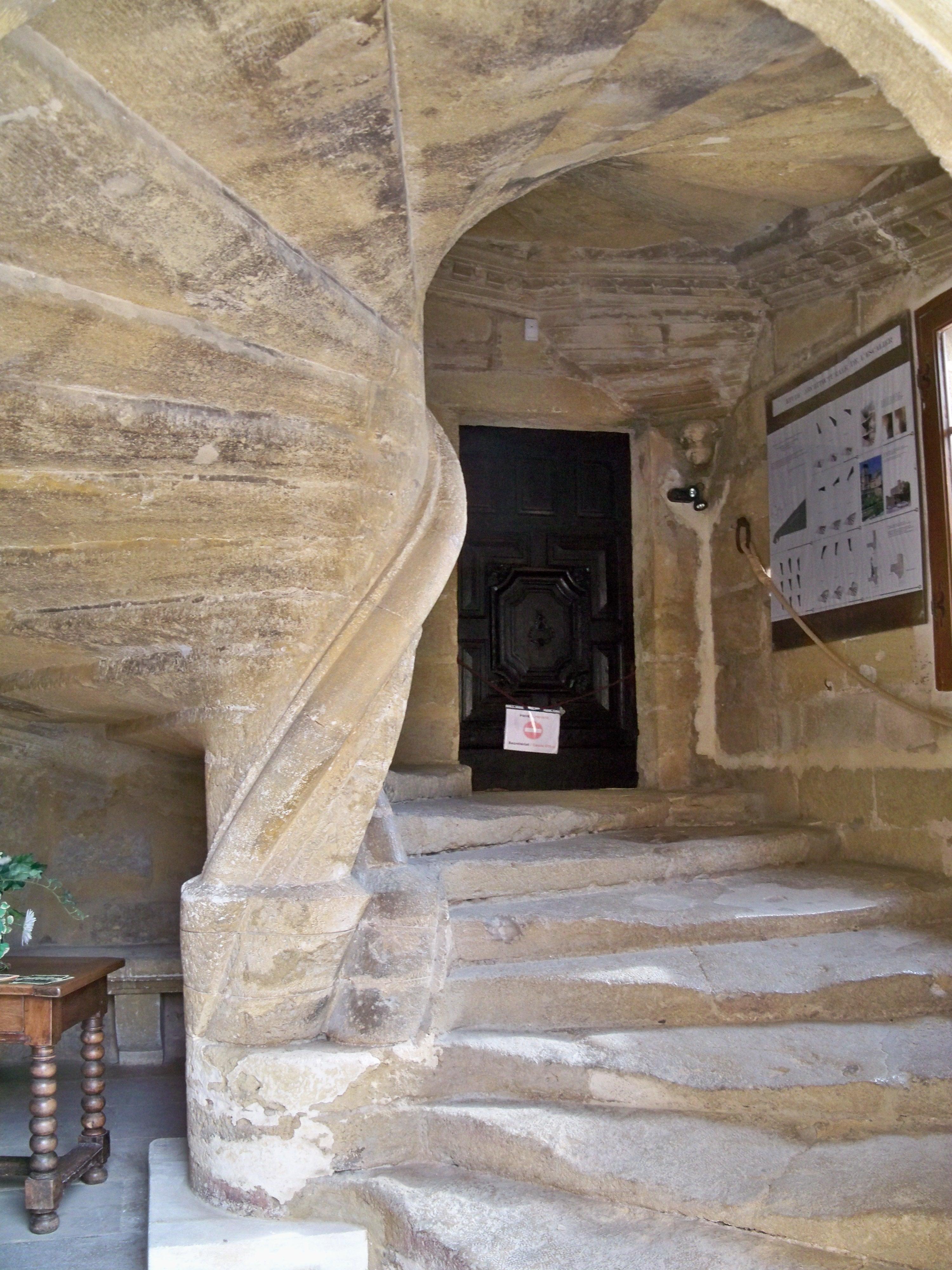 escalier droit renaissance