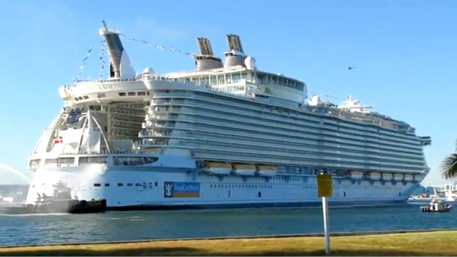 how long is oasis of the seas