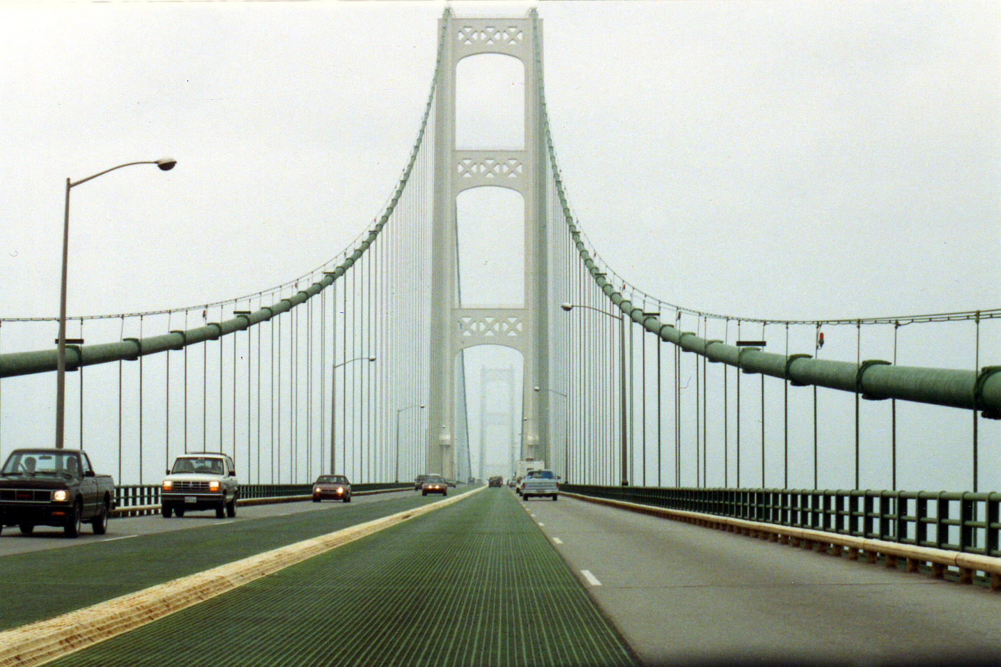 The Mackinac Bridge which carries I 75 has