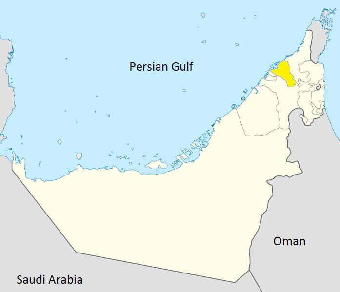 FileMap of Umm alQaiwainpng Wikimedia Commons