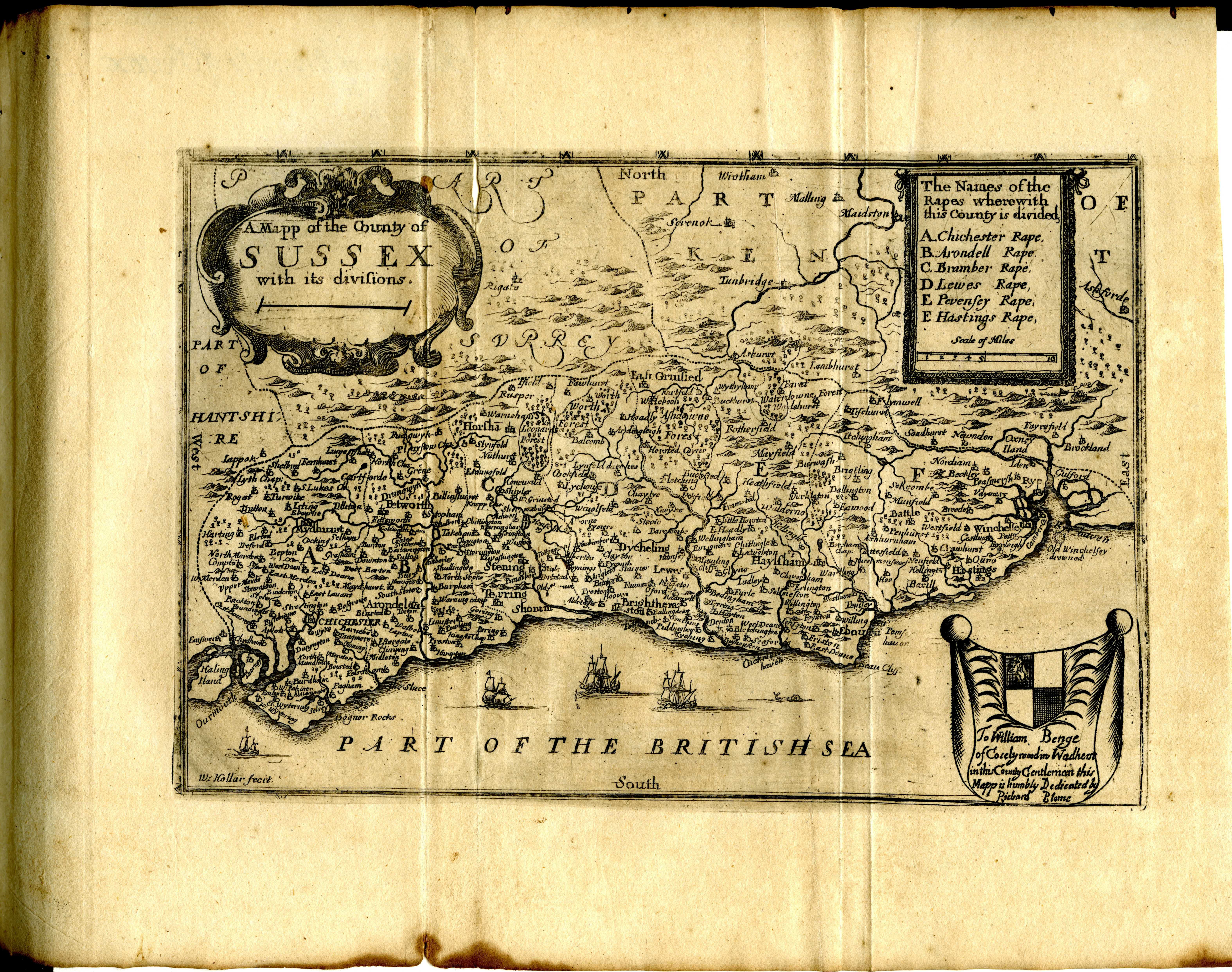 File Maps Of England Circa 1670 Sussex 36 Of 40 13432234744 Jpg