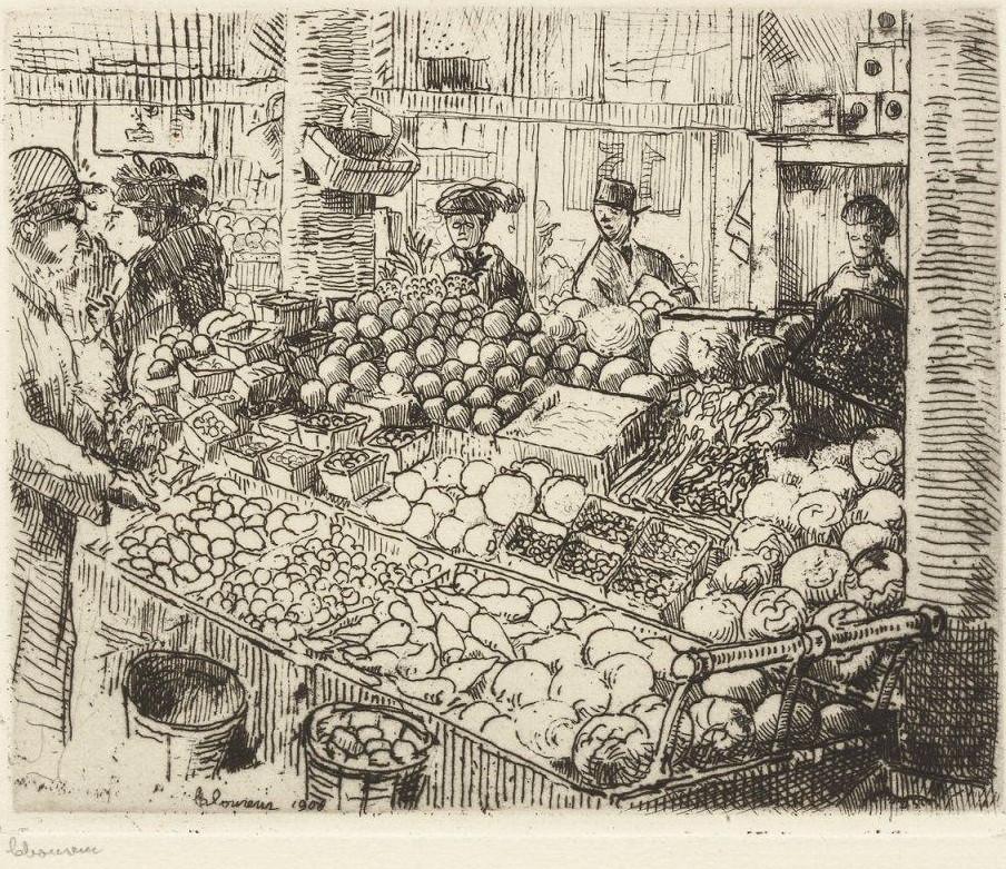 Ca s'est passé en août ! Marche-aux-legumes-1908