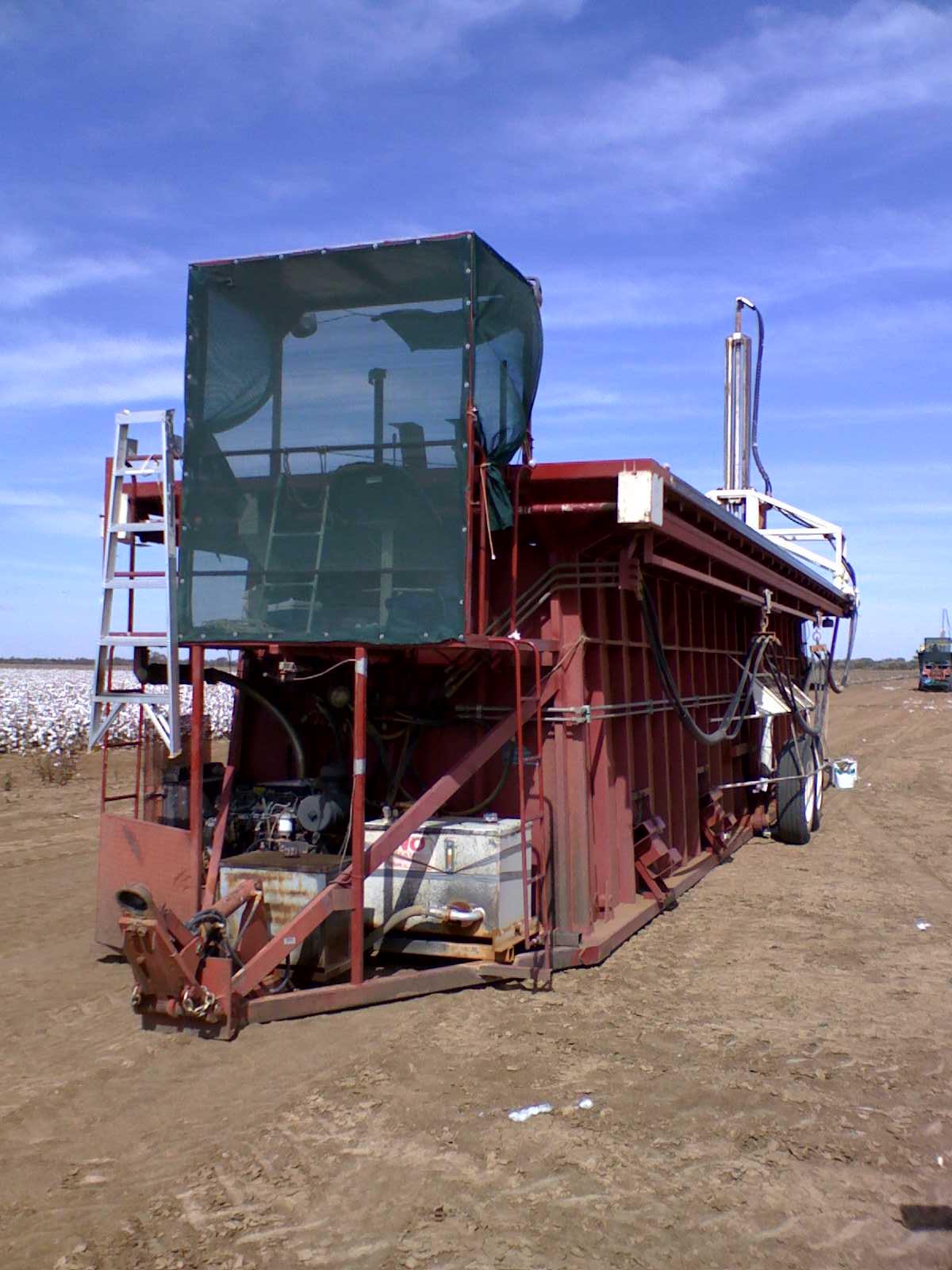 cotton module builder